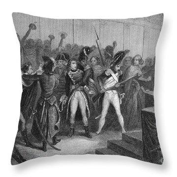 Napoleon I (1769-1821) Throw Pillow by Granger