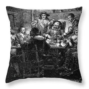 Benjamin Jonson (1573-1637) Throw Pillow by Granger