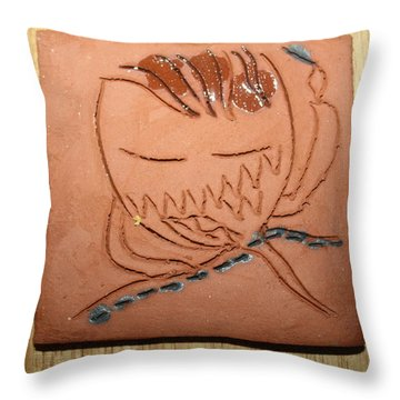 Crazy Pineapple Throw Pillow by Gloria Ssali