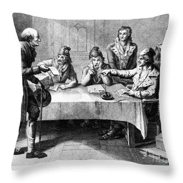 French Revolution, 1793 Throw Pillow by Granger