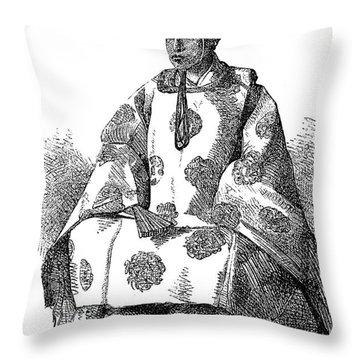 Hitotsubashi (1837-1913) Throw Pillow by Granger
