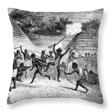 James Augustus Grant Throw Pillow by Granger
