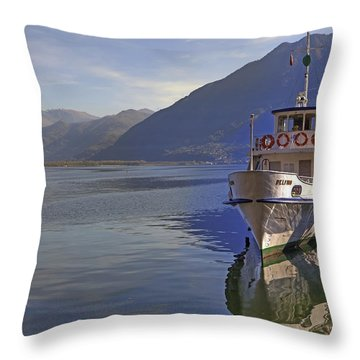 Locarno Throw Pillow by Joana Kruse