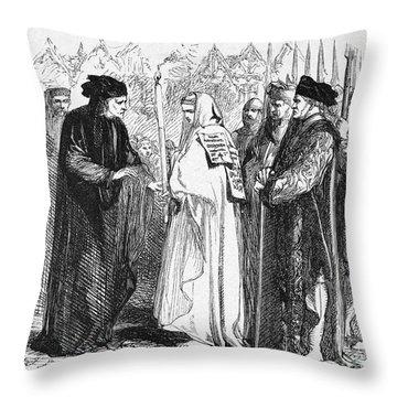 Shakespeare: Henry Vi Throw Pillow by Granger