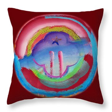 Two Throw Pillow by Charles Stuart