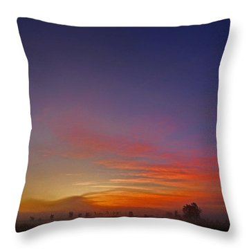 337 North Throw Pillow by Juergen Weiss