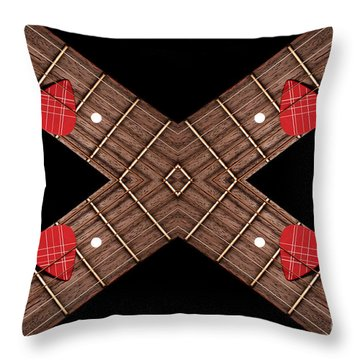 4 By 4 Horizontal Throw Pillow by Andee Design