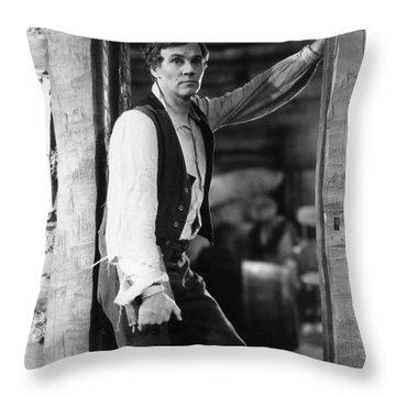 Film Still: Abraham Lincoln Throw Pillow by Granger