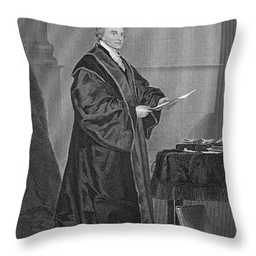 John Jay (1745-1829) Throw Pillow by Granger