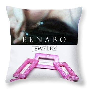 My Art Jewelry Throw Pillow by Eena Bo