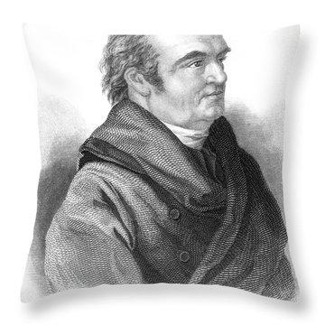 William Herschel, German-british Throw Pillow by Science Source