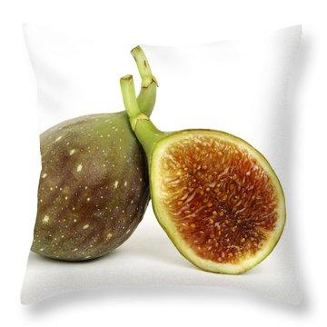 Figs Throw Pillow by Bernard Jaubert