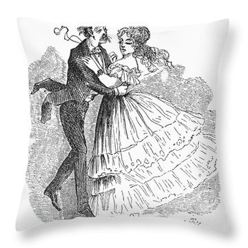 Samuel Langhorne Clemens Throw Pillow by Granger