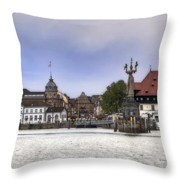 Constance Throw Pillow by Joana Kruse