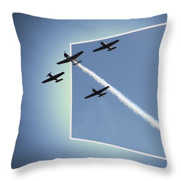 8027 Letting Off Steam Throw Pillow by EricaMaxine  Price