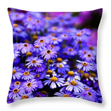 A Chain Reaction Throw Pillow by Syed Aqueel