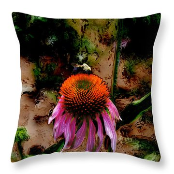 A Lot To Do Today Throw Pillow by Kelly Rader