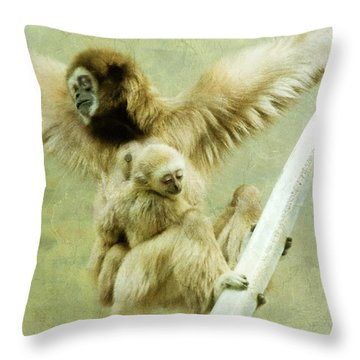 A Mother's Love Throw Pillow by Trish Tritz
