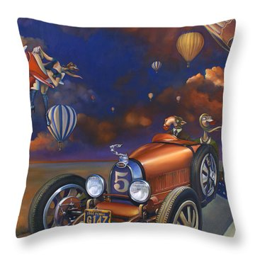 A Selfish Pair Of Jeans Throw Pillow by Patrick Anthony Pierson