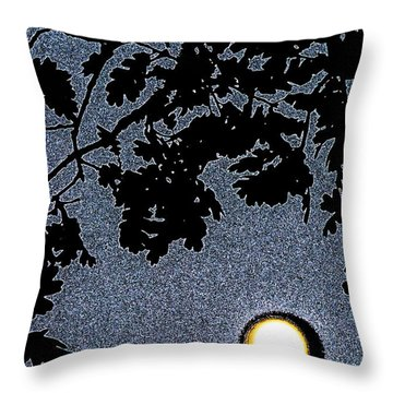 Abstract 229 Throw Pillow by Pamela Cooper
