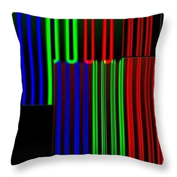 Abstract Fusion 135 Throw Pillow by Will Borden