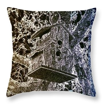 Abstract Fusion 160 Throw Pillow by Will Borden