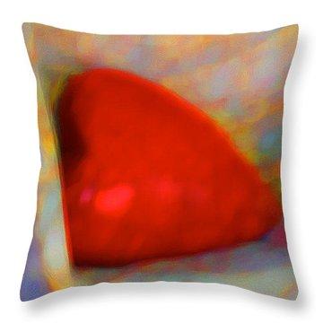 Throw Pillow featuring the digital art Abundant Love by Richard Laeton