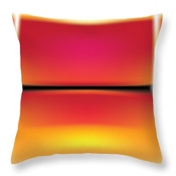 After Rothko Throw Pillow by Gary Grayson