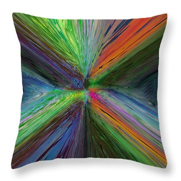 After The Rain 8 Throw Pillow by Tim Allen