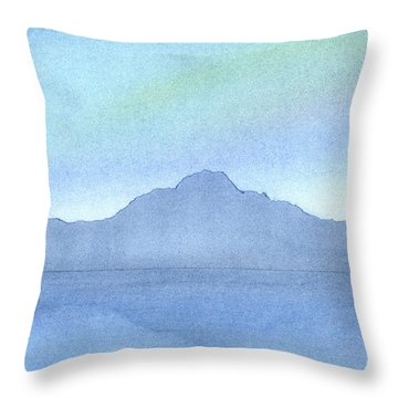 Afternoon On The Water Throw Pillow by Hakon Soreide