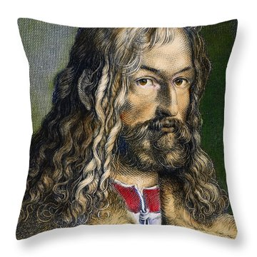 Albrecht DÜrer (1471-1528) Throw Pillow by Granger