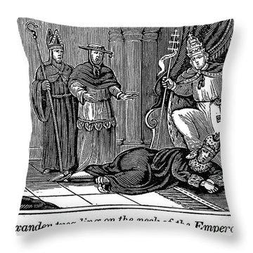 Alexander IIi (d. 1181) Throw Pillow by Granger