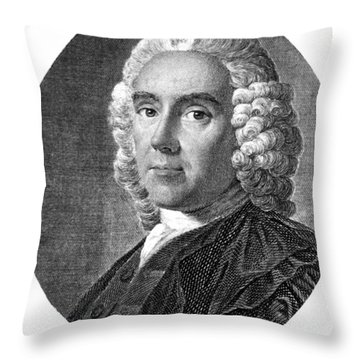 Alexander Monro, Primus, Scottish Throw Pillow by Science Source