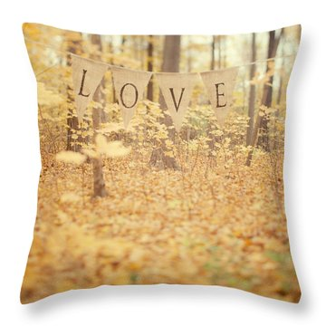 All Is Love Throw Pillow by Irene Suchocki