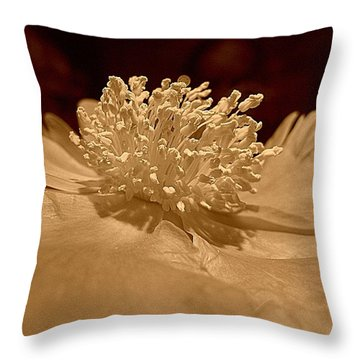 All My Glory Throw Pillow by Shirley Sirois