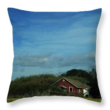 All That Yellow Throw Pillow by Laurie Search