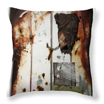 Appaloosa Throw Pillow by Snake Jagger