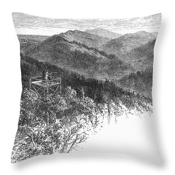 Arkansas: Mountains, 1878 Throw Pillow by Granger