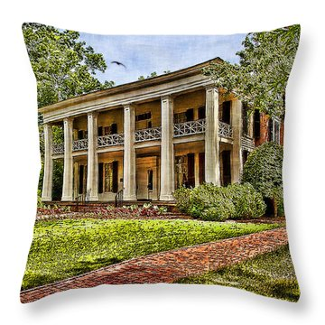 Arlington House Throw Pillow by Lianne Schneider
