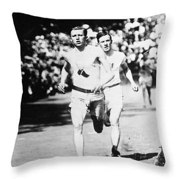 Athens: Olympics, 1906 Throw Pillow by Granger