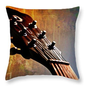 Autumn Rhapsody Throw Pillow by Christopher Gaston