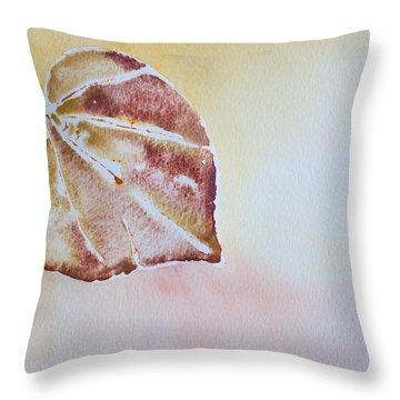 Autumn Shimmer Throw Pillow by Heidi Smith