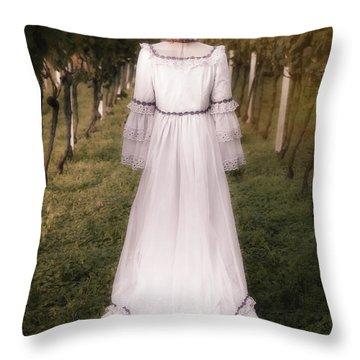 Autumnal Throw Pillow by Joana Kruse