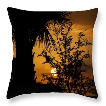Ave Maria Throw Pillow by Joseph Yarbrough