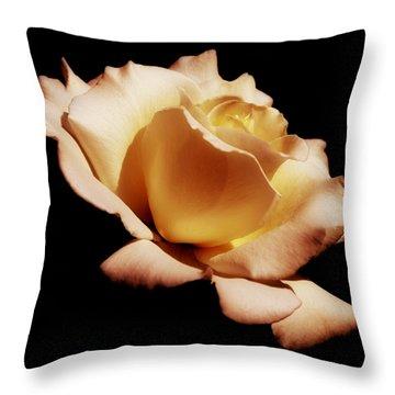Awakening Throw Pillow by Kim Hojnacki