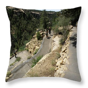 Back And Forth Throw Pillow by Feva  Fotos