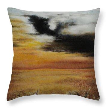 Beautiful Beginnings Throw Pillow by Carla Carson