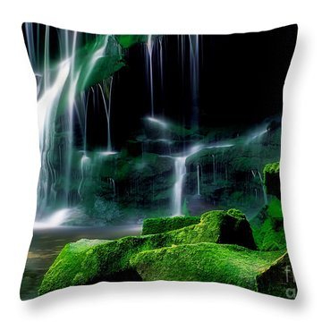 Beauty Of West Virginia Throw Pillow by Darren Fisher