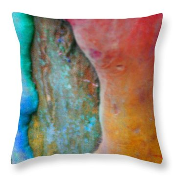 Throw Pillow featuring the digital art Become by Richard Laeton