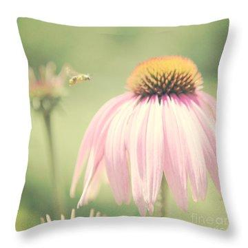 Beeautiful Throw Pillow by Kim Fearheiley